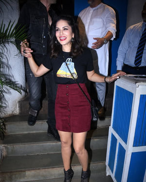 Sunny Leone - Photos: Raza Beig's Birthday Party At Olive Bandra