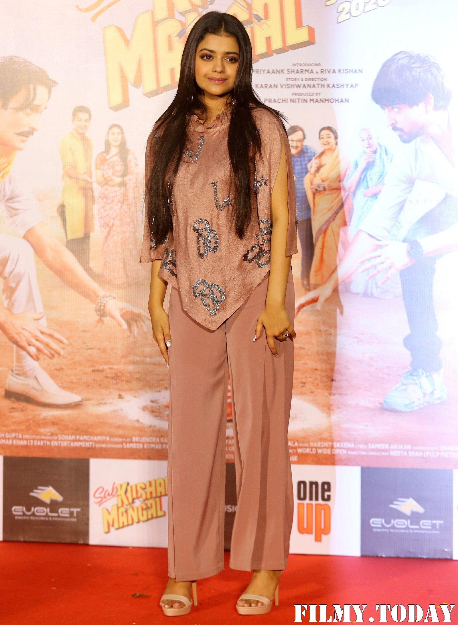 Riva Kishan - Photos: Trailer Launch Of Film Sab Kushal Mangal Hai | Picture 1704552