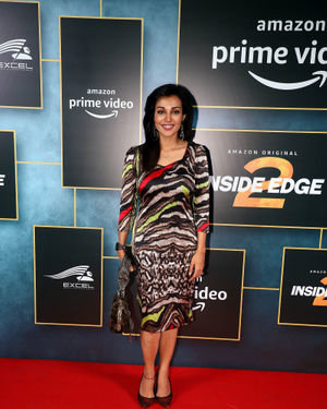 Flora Saini - Photos: Launch Of Amazon Prime Inside Edge 2 At Jw Marriott