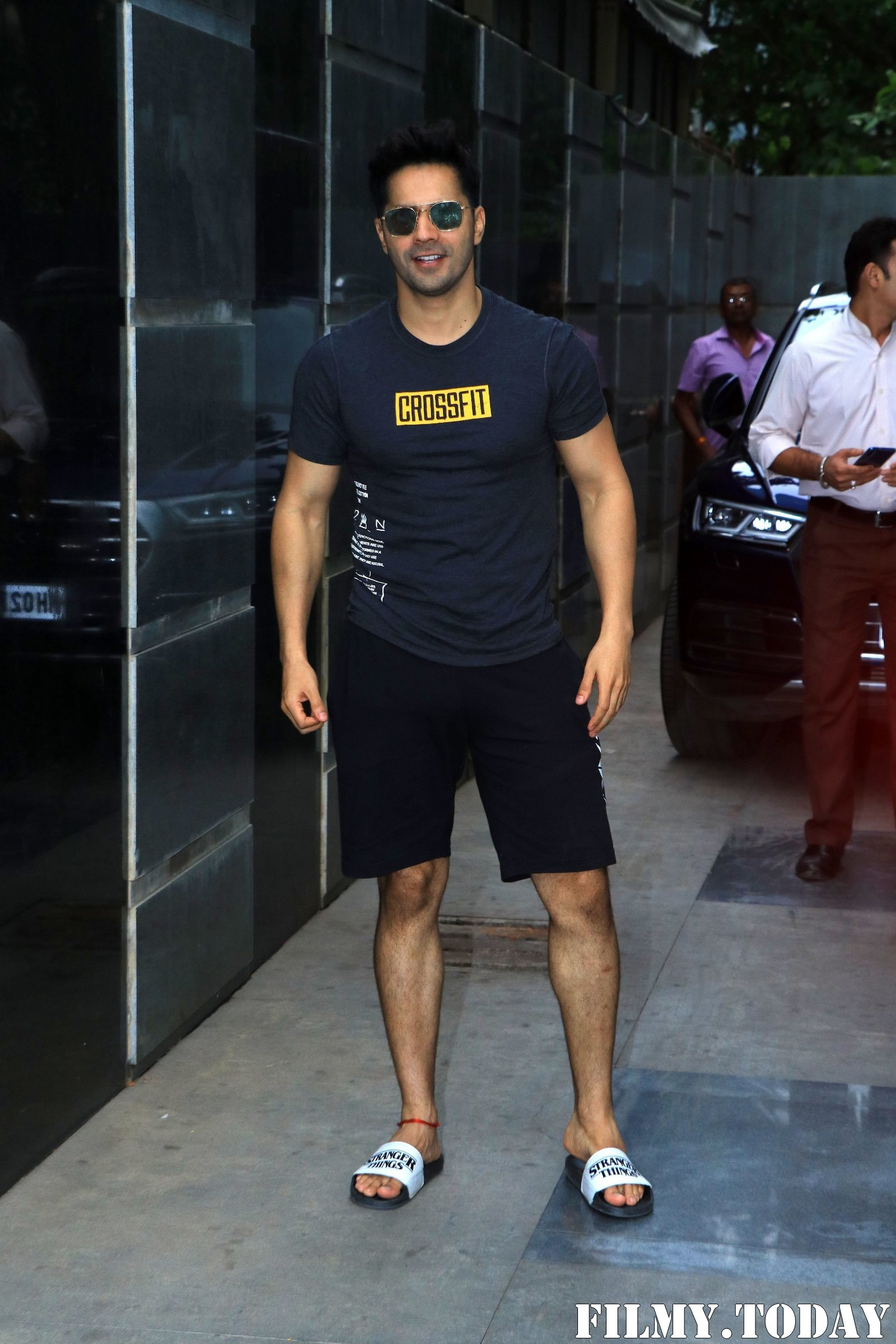 Varun Dhawan - Photos: Celebs Spotted at Gym | Picture 1705082