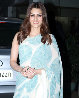 Kriti Sanon - Photos: Screening Of Panipat At Sunny Sound Juhu