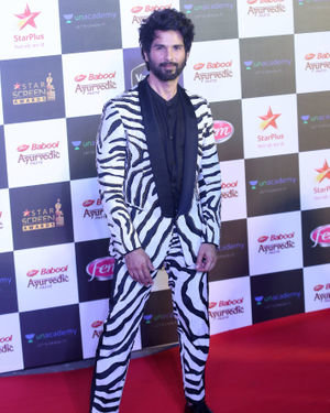 Shahid Kapoor - Photos: Star Screen Awards 2019 At Bkc