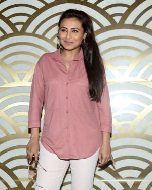 Rani Mukerji - Photos: Screening Of Film Mardani 2 For Female Police Of Mumbai