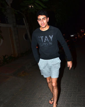 Ibrahim Ali Khan - Photos: Celebs Spotted at Juhu