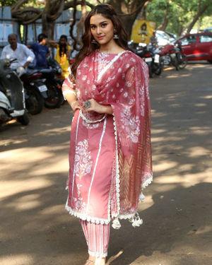 Saiee Manjrekar - Photos: Promotion Of Film Dabangg 3 At Filmcity
