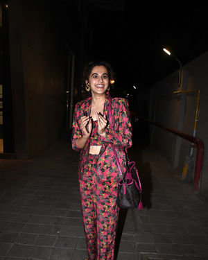 Taapsee Pannu - Photos: Celebs At Rohini Iyer's Party