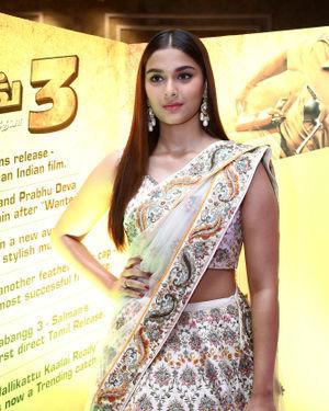 Saiee Manjrekar - Photos: Press Conference Of Film Dabangg 3 At Chennai