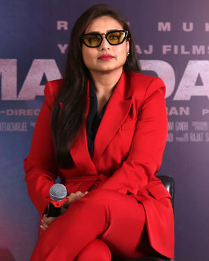 Rani Mukerji - Photos: Press Conference Of Mardaani 2 At Yashraj Studio