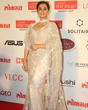 Taapsee Pannu - Photos: Lokmat Most Stylish Awards 2019 At The Leela Hotel   Picture 1709632