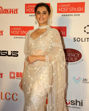 Taapsee Pannu - Photos: Lokmat Most Stylish Awards 2019 At The Leela Hotel
