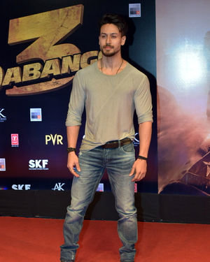 Tiger Shroff - Photos: Screening Of Dabangg 3 At Pvr Juhu