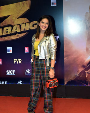 Sunny Leone - Photos: Screening Of Dabangg 3 At Pvr Juhu