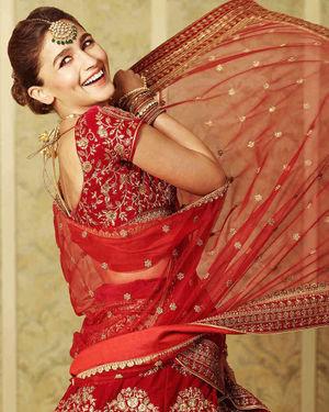 Alia Bhatt For Manyavar India Photoshoot   Picture 1710150