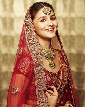 Alia Bhatt For Manyavar India Photoshoot