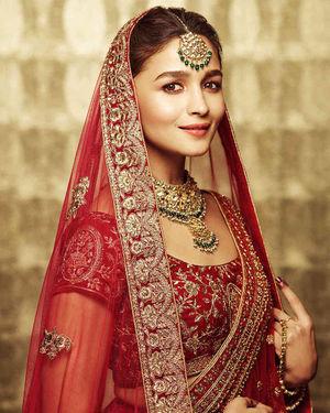 Alia Bhatt For Manyavar India Photoshoot   Picture 1710149