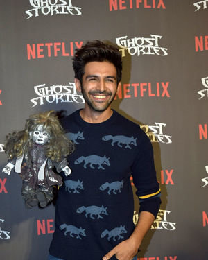 Kartik Aaryan - Photos: Screening Of Netflix Ghoststories At Pvr Juhu