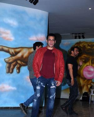 Salman Khan - Photos: Saiee Manjrekar Birthday Party At Bandra