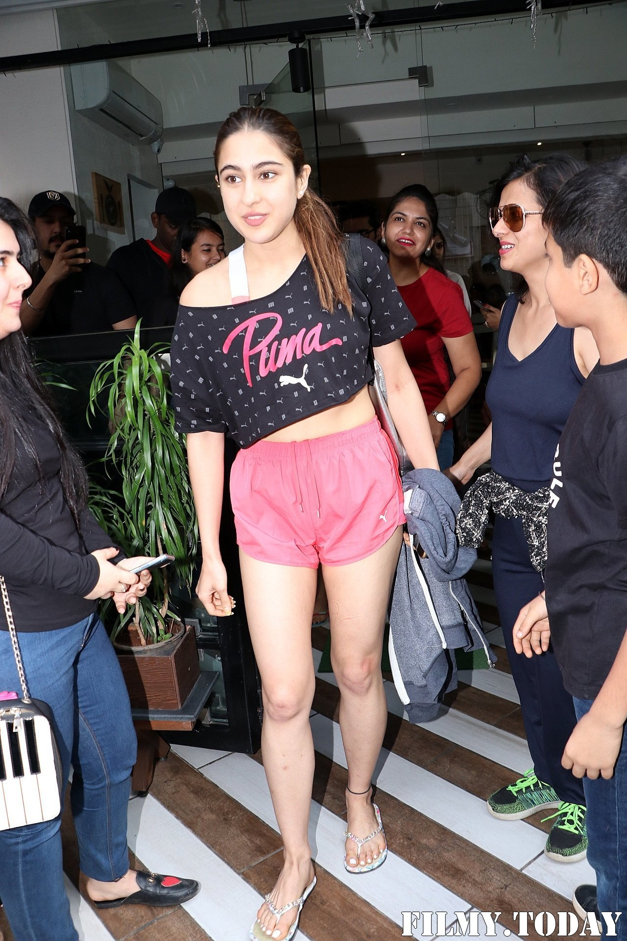 Sara Ali Khan - Photos: Celebs Spotted At Farmer's Cafe In Bandra | Picture 1711937
