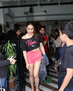 Sara Ali Khan - Photos: Celebs Spotted At Farmer's Cafe In Bandra