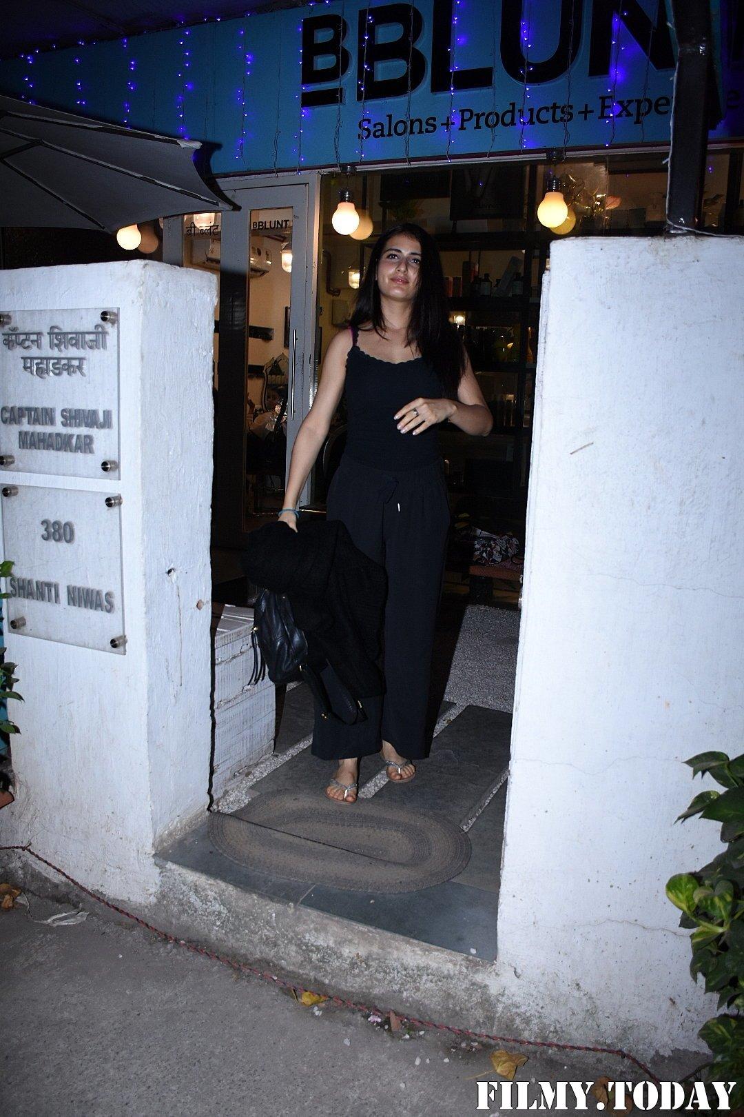 Fatima Sana Shaikh - Photos: Celebs Spotted Bblunt Salon At Bandra | Picture 1711926