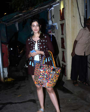 Nupur Sanon - Photos: Celebs Spotted At Myrah Spa In Juhu | Picture 1659326