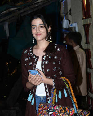 Nupur Sanon - Photos: Celebs Spotted At Myrah Spa In Juhu | Picture 1659331