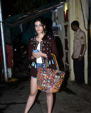 Nupur Sanon - Photos: Celebs Spotted At Myrah Spa In Juhu | Picture 1659329