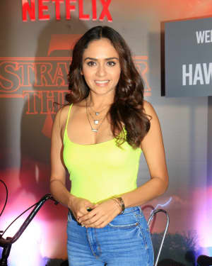 Amruta Khanvilkar - Photos: Screening Of Netflix Stranger Things 3 At Pvr