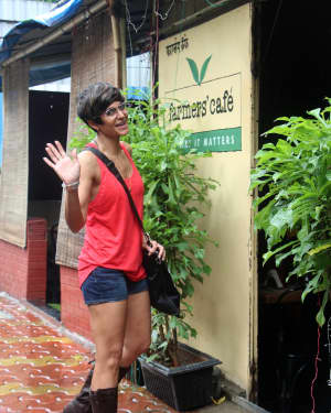 Mandira Bedi - Photos: Celebs Spotted At Farmer's Cafe In Bandra