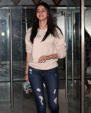 Photos: Ananya Pandey Spotted At Sanjay Kapoor House | Picture 1660139