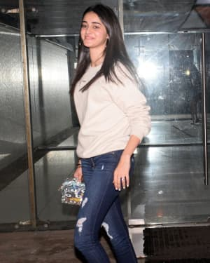 Photos: Ananya Pandey Spotted At Sanjay Kapoor House | Picture 1660138