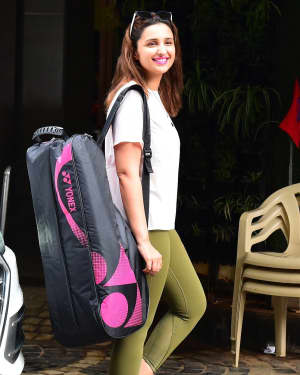 Parineeti Chopra - Photos: Celebs Spotted At Khar Gymkhana | Picture 1660220