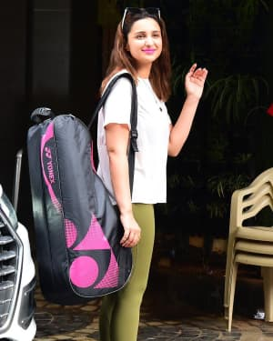 Parineeti Chopra - Photos: Celebs Spotted At Khar Gymkhana | Picture 1660221