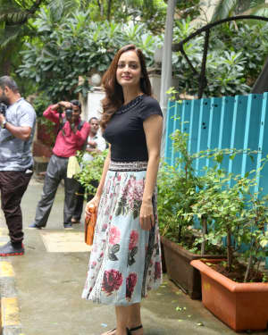 Dia Mirza - Photos: Celebs Spotted at Bandra | Picture 1660216
