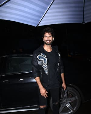 Shahid Kapoor - Photos: Success Party Of Kabir Singh At Earth In Khar
