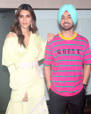 Arjun Patiala - Photos: Promotion Of The Film Arjun Patiala At Juhu