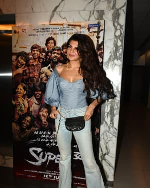 Jacqueline Fernandez - Photos: Screening Of Film Super 30 At Yashraj Studios | Picture 1662221