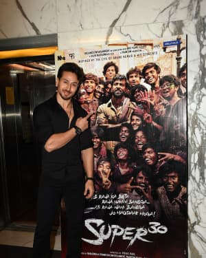 Tiger Shroff - Photos: Screening Of Film Super 30 At Yashraj Studios
