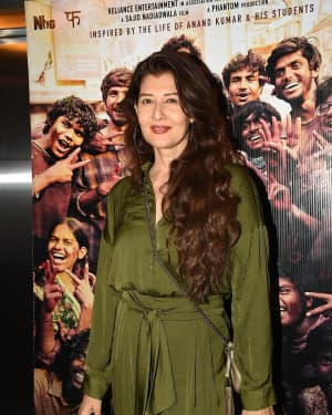 Sangeeta Bijlani - Photos: Screening Of Film Super 30 At Yashraj Studios