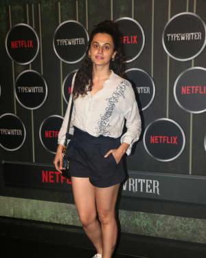 Taapsee Pannu - Photos: Screening Of Netflix New Series Typewriter At Bandra