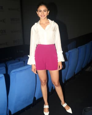Rakul Preet Singh - Photos:  Launch Of Screex By Inox At Malad | Picture 1662841