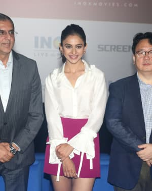 Photos:  Launch Of Screex By Inox At Malad