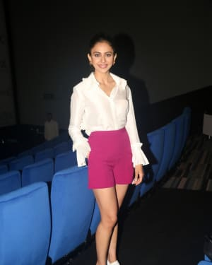 Rakul Preet Singh - Photos:  Launch Of Screex By Inox At Malad | Picture 1662839