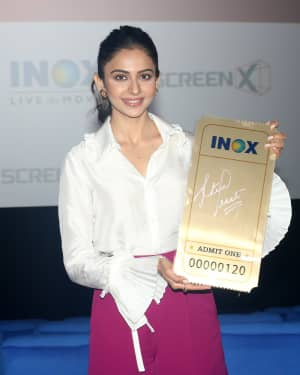 Rakul Preet Singh - Photos:  Launch Of Screex By Inox At Malad | Picture 1662834