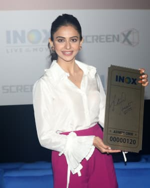 Rakul Preet Singh - Photos:  Launch Of Screex By Inox At Malad | Picture 1662835