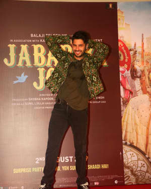 Sidharth Malhotra - Photos: The Song Launch Of Up Hile Zilla Hile From Film Jabariya Jodi | Picture 1662870