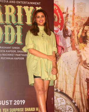 Parineeti Chopra - Photos: The Song Launch Of Up Hile Zilla Hile From Film Jabariya Jodi | Picture 1662875