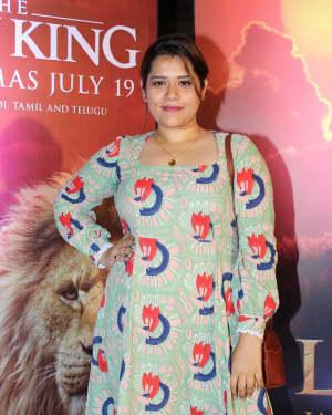 Shikha Talsania - Photos: Indian Screening Of Film The Lion King