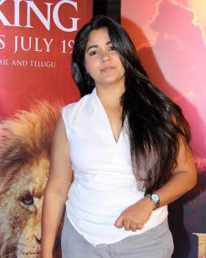 Narayani Shastri - Photos: Indian Screening Of Film The Lion King
