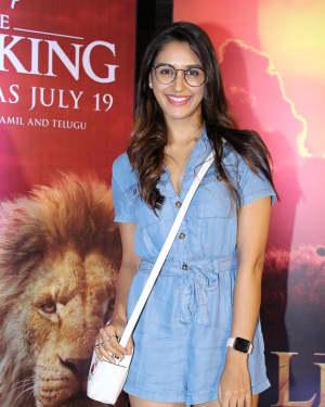 Nikita Dutta - Photos: Indian Screening Of Film The Lion King